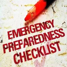 Emergency Preparations Checklist
