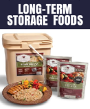 Emergency Long Term Storage Foods on Amazon