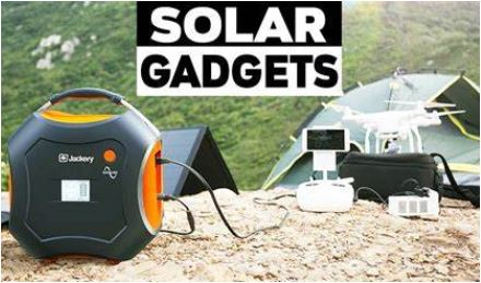 Solar Powered Equipment